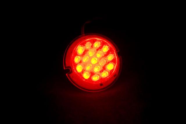 Матрица светодиодная FL-MR16 красная 18 LED 12V G 5.1