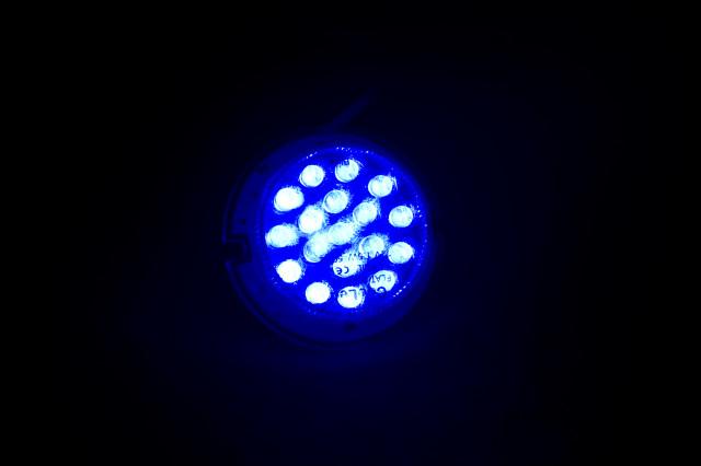 Матрица светодиодная FL-MR16 синяя 18 LED 12V G 5.1