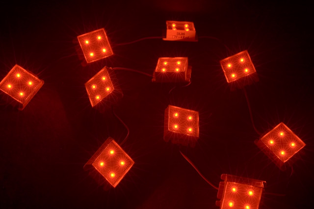 Светодиодная матрица DLBS-10x4 LED 12V red (блок)