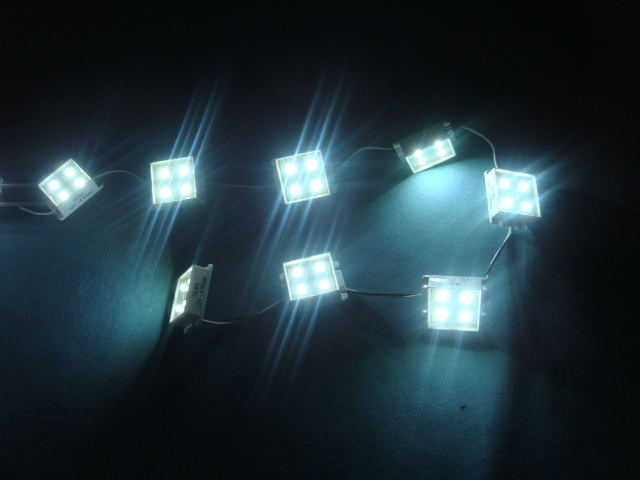 Светодиодная матрица DLBS-10x4 LED 12V white (блок)