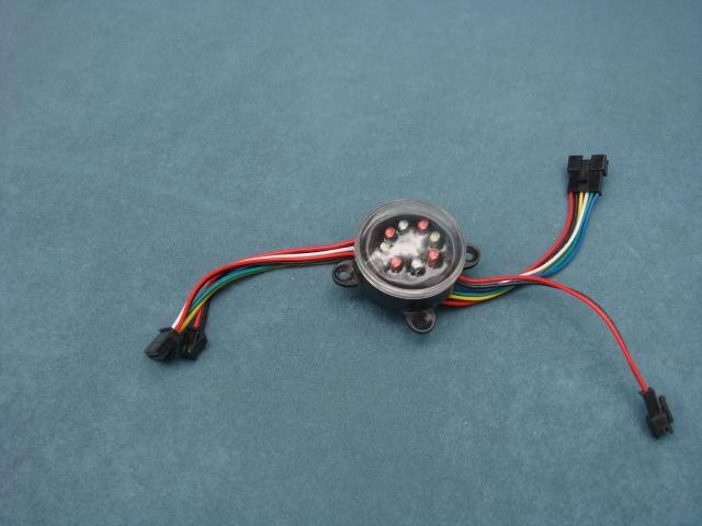 Светодиодный RGB модуль Model light 8LED 12V multi