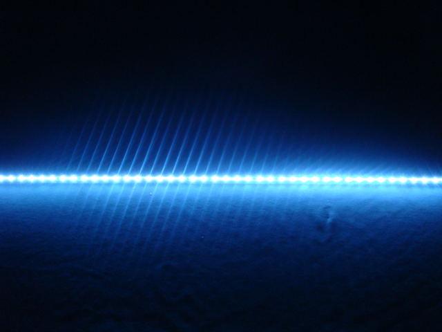 Трубка светодиодная HL-15 blue 24V 48LED