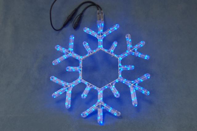 Световая светодиодная фигура LED Snowflake 53 мотив