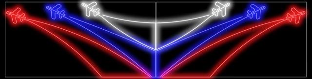 Световая светодиодная фигура LED DNM-12440